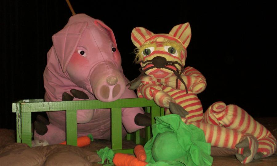 Puppentheater Voll drauf (Copyright: Figurenthater Hille Pupille)